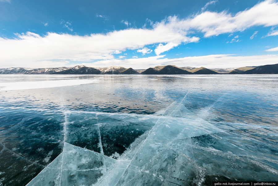 Winter and summer lake Baikal: Delightful photos from the sky - 24