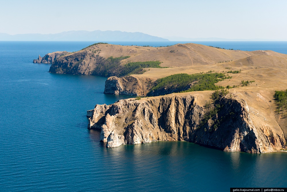 Winter and summer lake Baikal: Delightful photos from the sky - 26