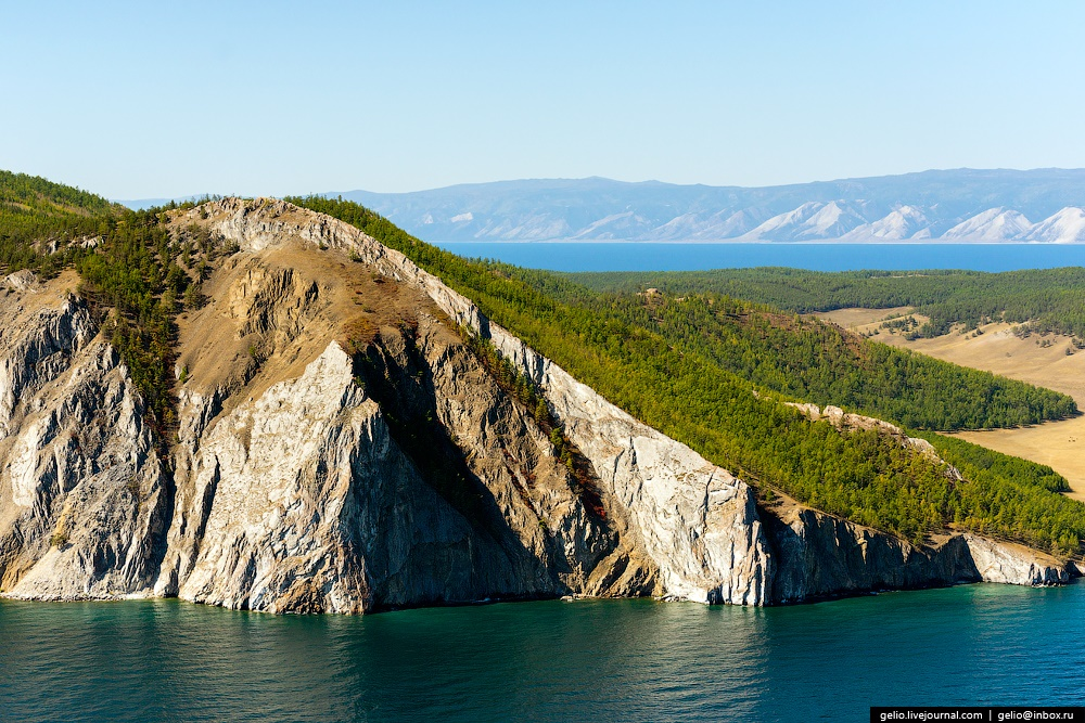 Winter and summer lake Baikal: Delightful photos from the sky - 27