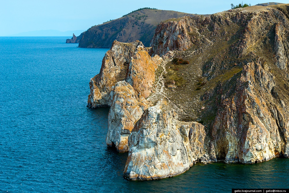 Winter and summer lake Baikal: Delightful photos from the sky - 29
