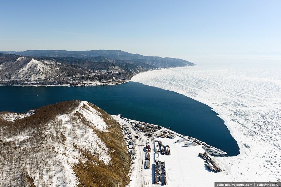 Winter and summer lake Baikal: Delightful photos from the sky - 3
