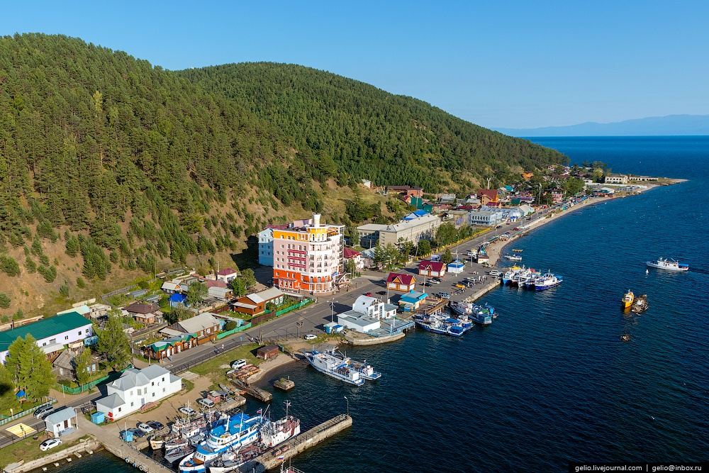 Winter and summer lake Baikal: Delightful photos from the sky - 49