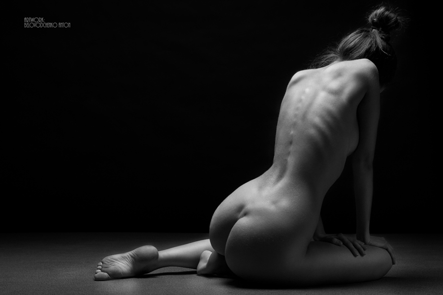 Womens shapes: Bodyscape photos by Anton Belovodchenko - 6