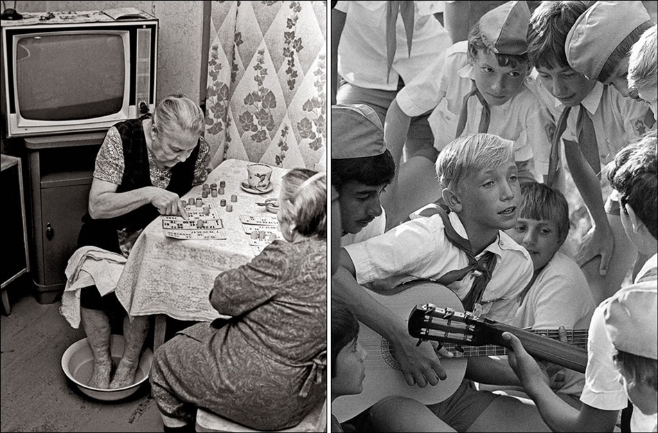 Everyday life in the late USSR on photos by Vladimir Rolov - 7