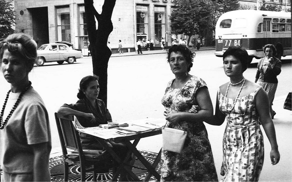 Moscow in 1963: Vintage photographs by Gerald Bloncourt - 43