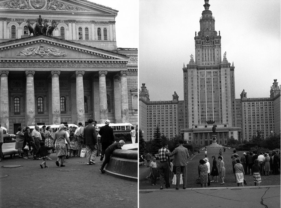 Moscow in 1963: Vintage photographs by Gerald Bloncourt - 9