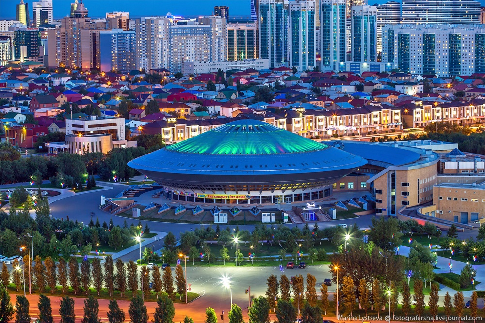 Night Astana: Urban landscapes of the capital of Kazakhstan - 17