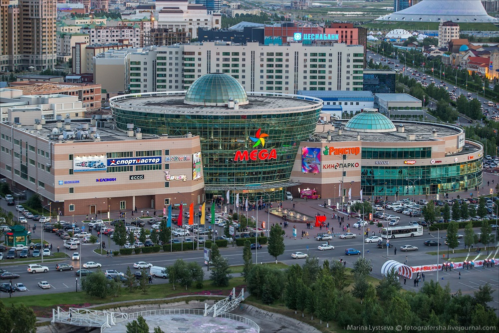 Night Astana: Urban landscapes of the capital of Kazakhstan - 19