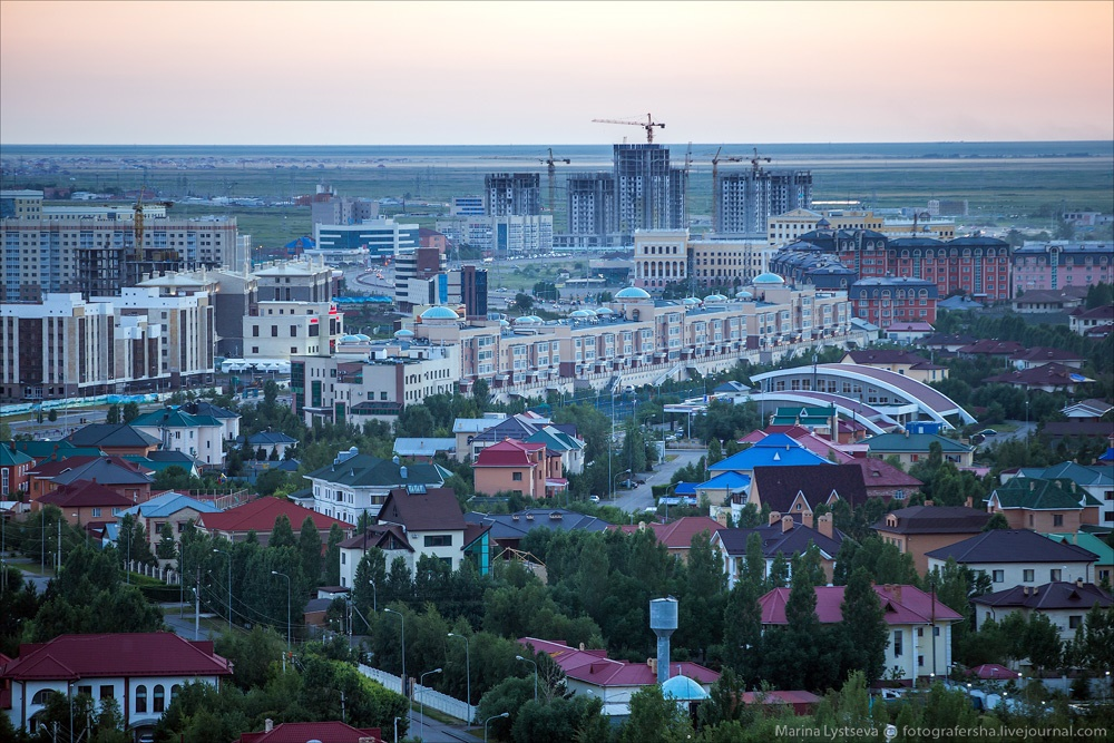 Night Astana: Urban landscapes of the capital of Kazakhstan - 2