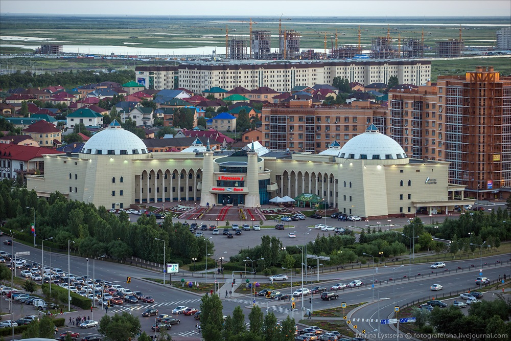 Night Astana: Urban landscapes of the capital of Kazakhstan - 21