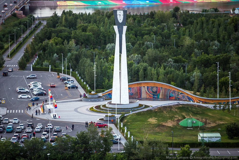 Night Astana: Urban landscapes of the capital of Kazakhstan - 25