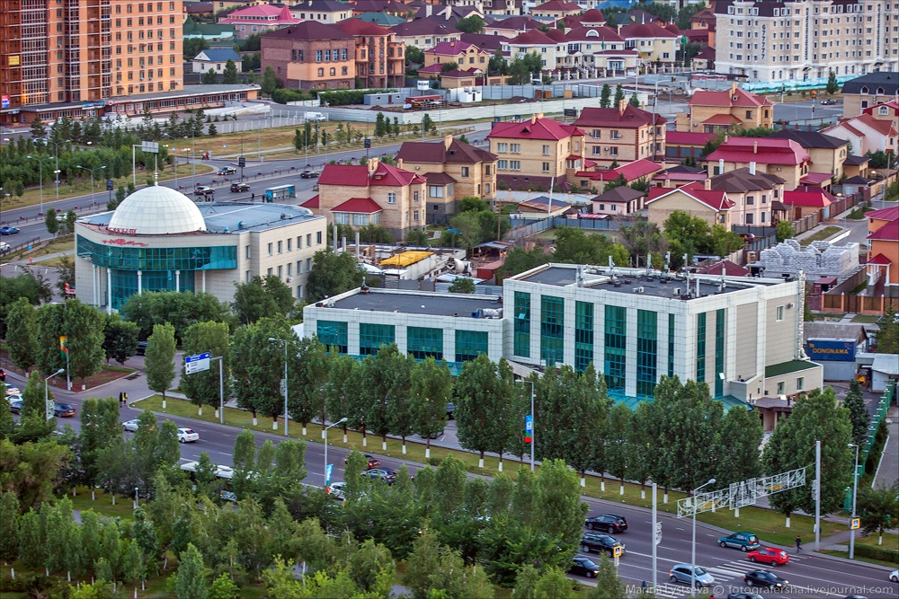Night Astana: Urban landscapes of the capital of Kazakhstan - 4