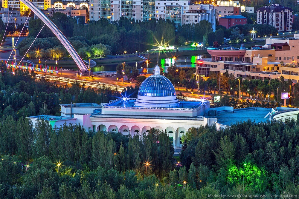 Night Astana: Urban landscapes of the capital of Kazakhstan - 6
