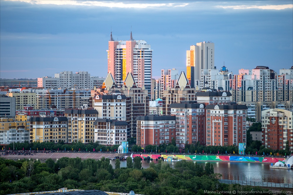 Night Astana: Urban landscapes of the capital of Kazakhstan - 7