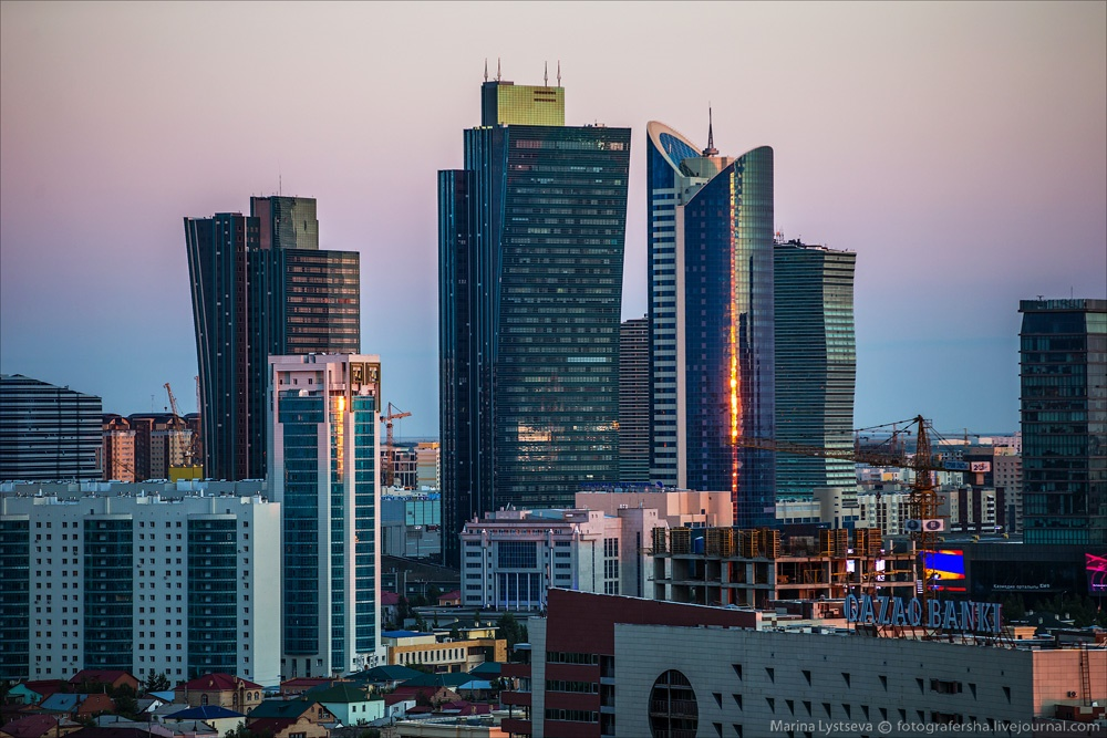 Night Astana: Urban landscapes of the capital of Kazakhstan - 9
