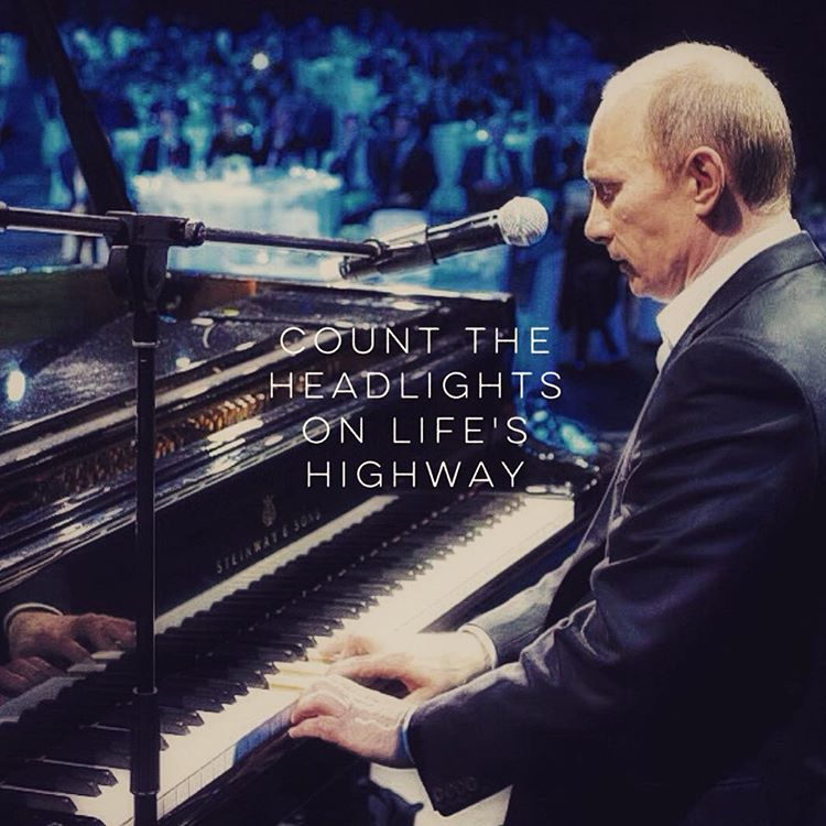 Putinspiration: sarcastic motivational pictures with Putin - 22