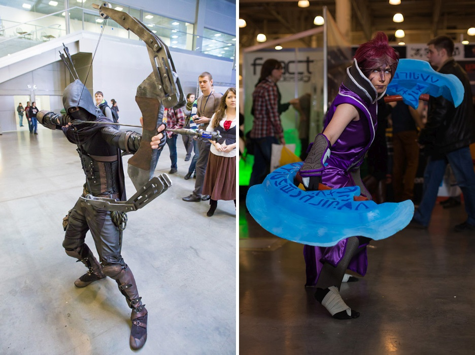 Russian Cosplay: Pictures from the Comic Con Russia 2015 - 36