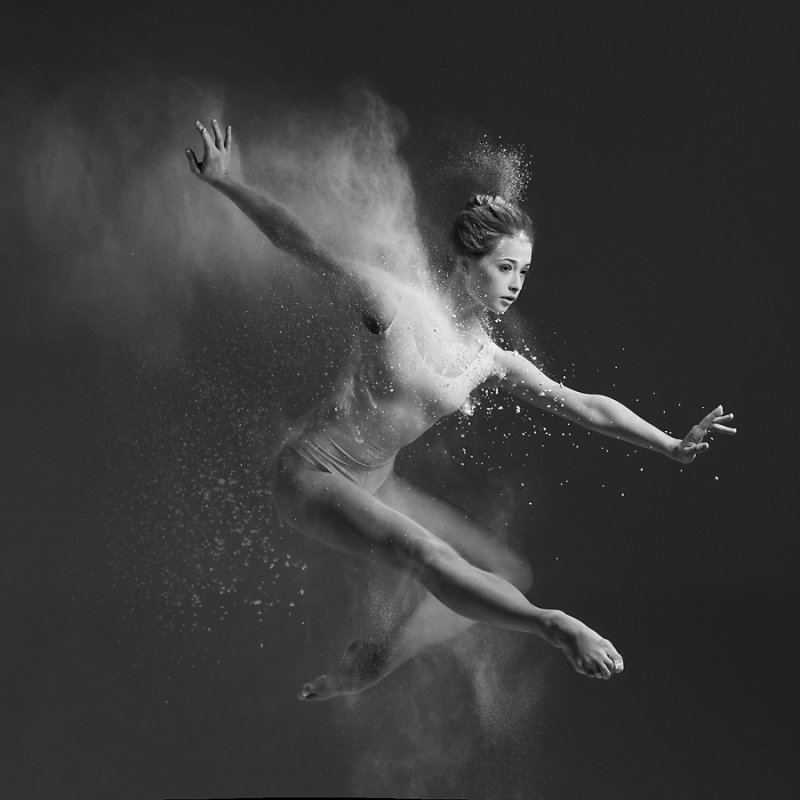 Art of graceful ballet dancing on photos by Alexander Yakovlev - 1