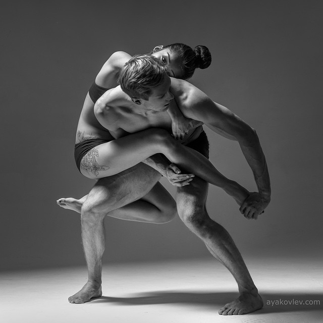 Art of graceful ballet dancing on photos by Alexander Yakovlev - 17