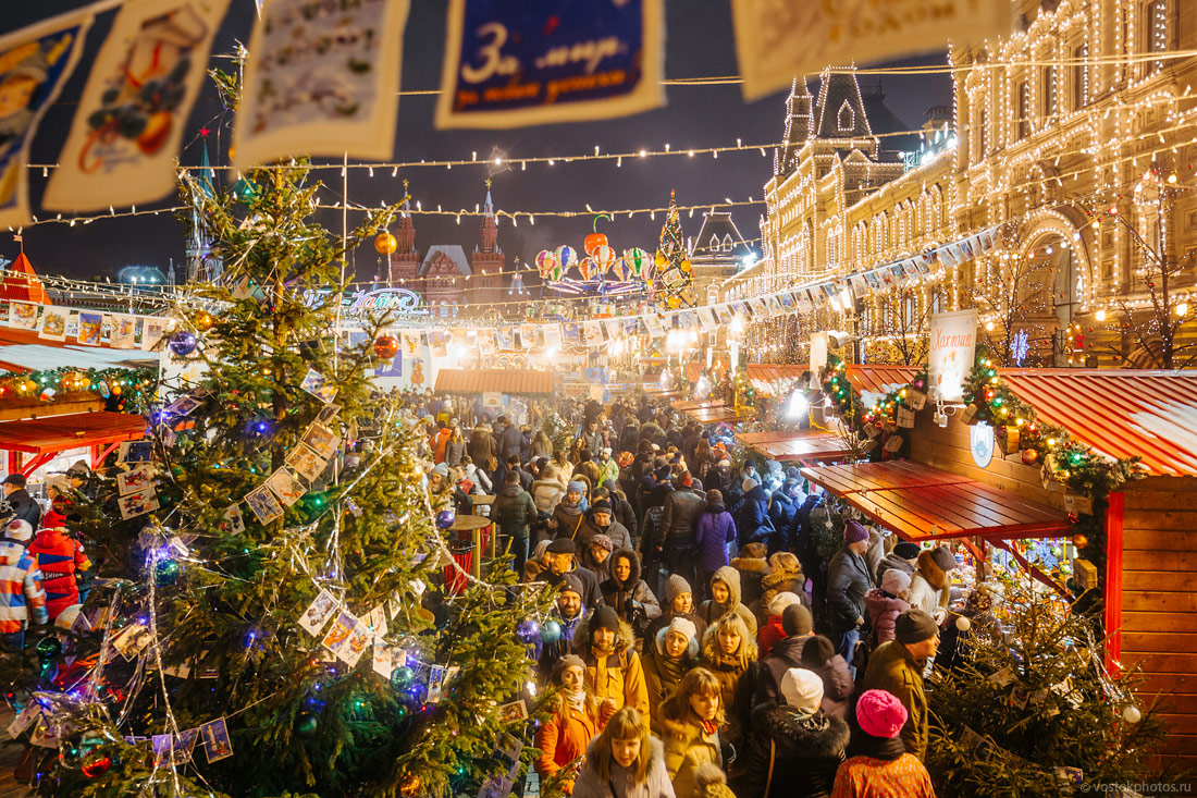 Festival of Christmas and New Year in Moscow - 11