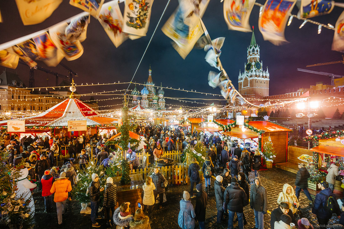 Festival of Christmas and New Year in Moscow - 6