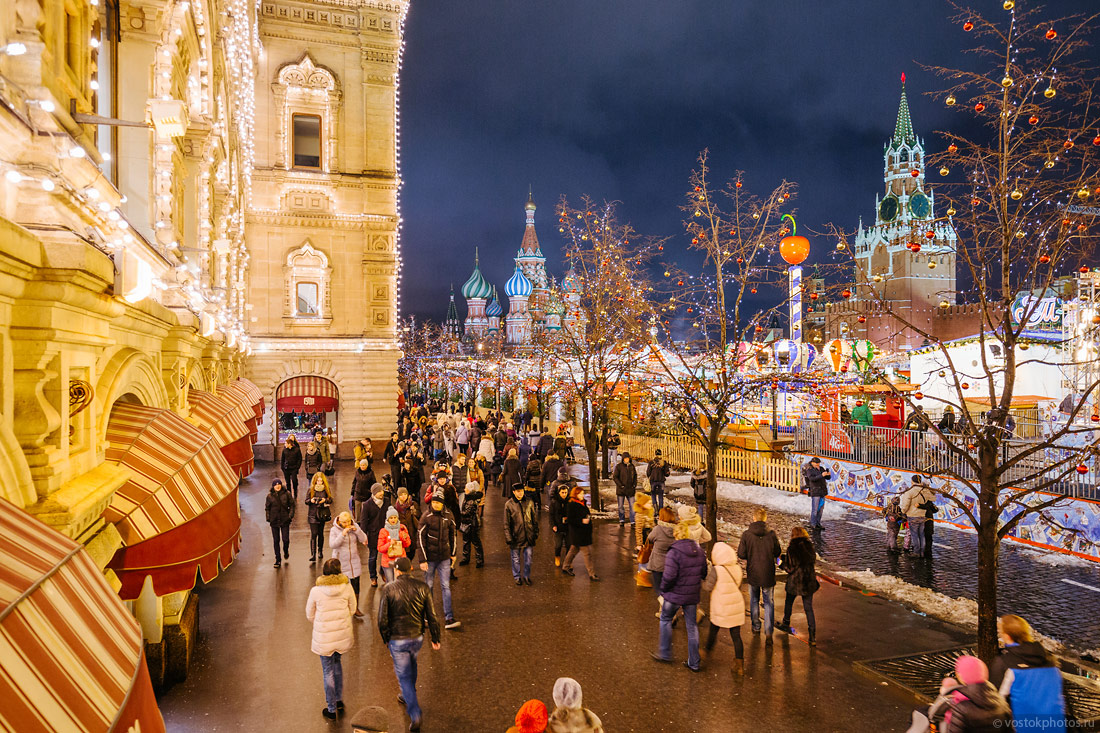 Festival of Christmas and New Year in Moscow - 9