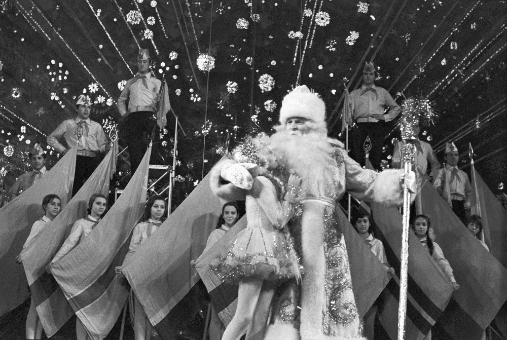 Ded Moroz: Photos of Slavic Santa Claus from the USSR - 1