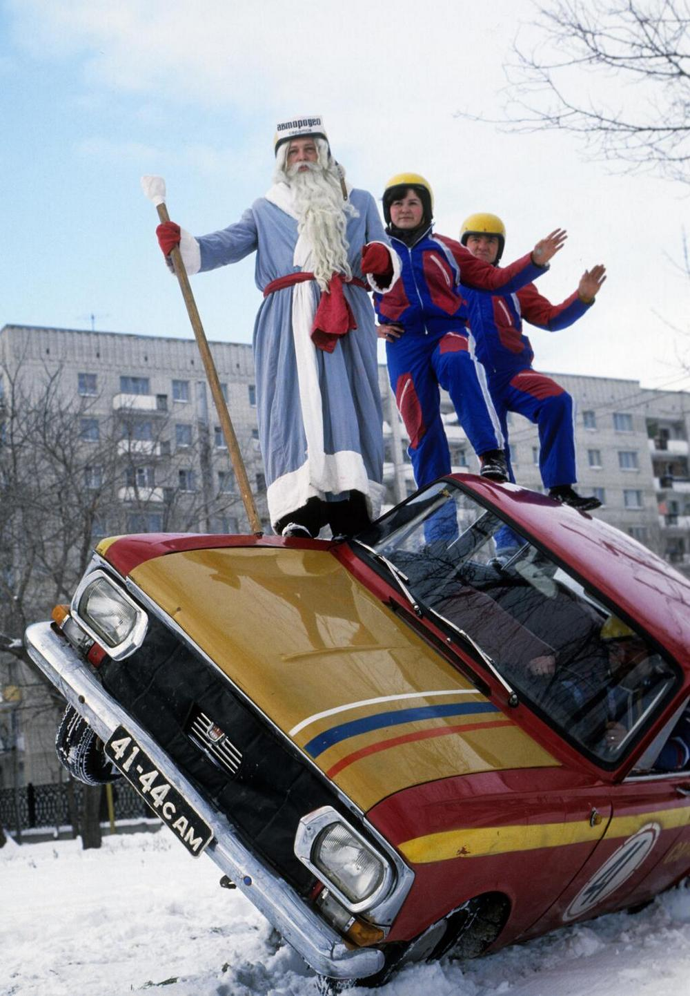 Ded Moroz: Photos of Slavic Santa Claus from the USSR - 2