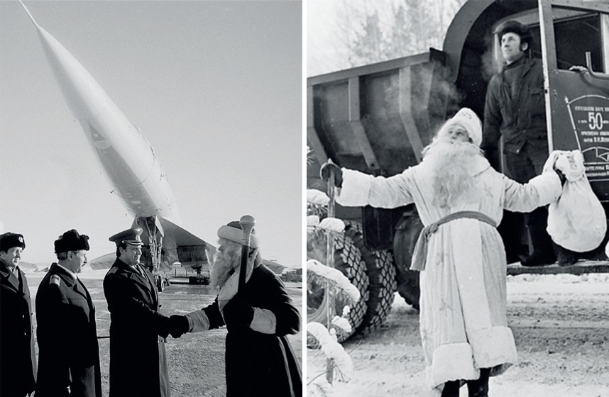 Ded Moroz: Photos of Slavic Santa Claus from the USSR - 22