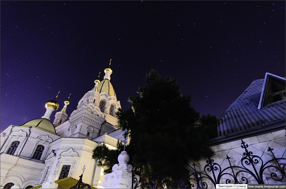 Starry sky of Sevastopol on photographs by Victoria Stupina - 1