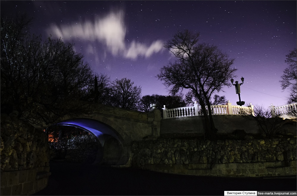 Starry sky of Sevastopol on photographs by Victoria Stupina - 10