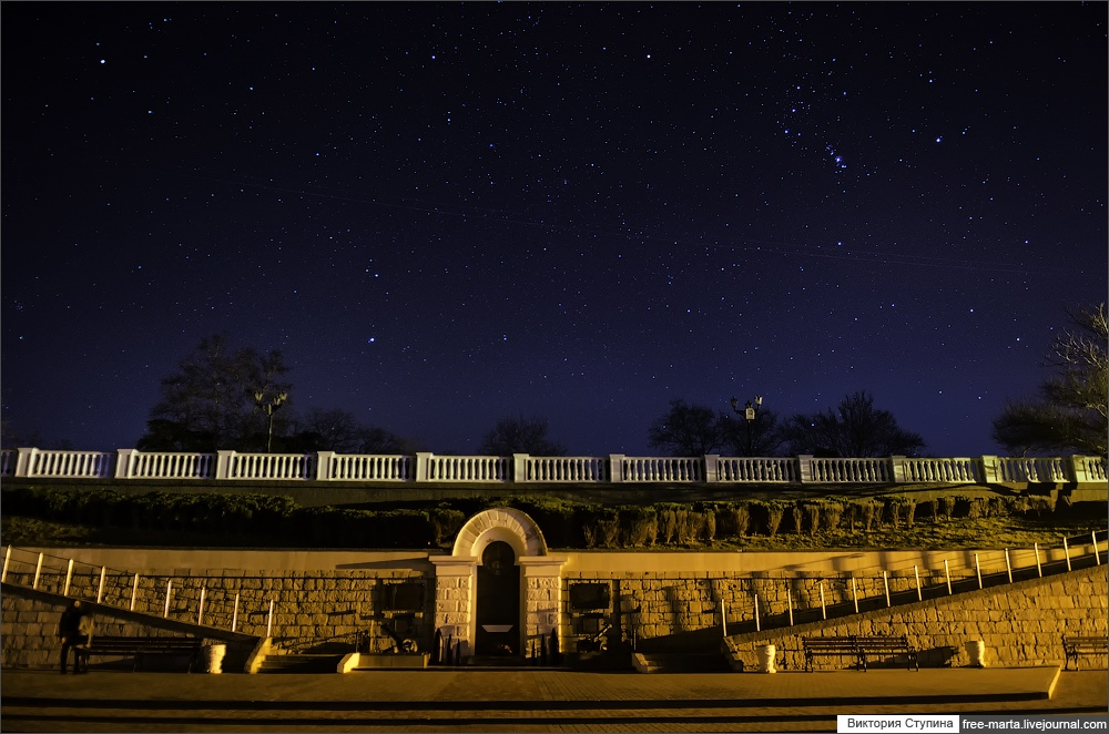 Starry sky of Sevastopol on photographs by Victoria Stupina - 21