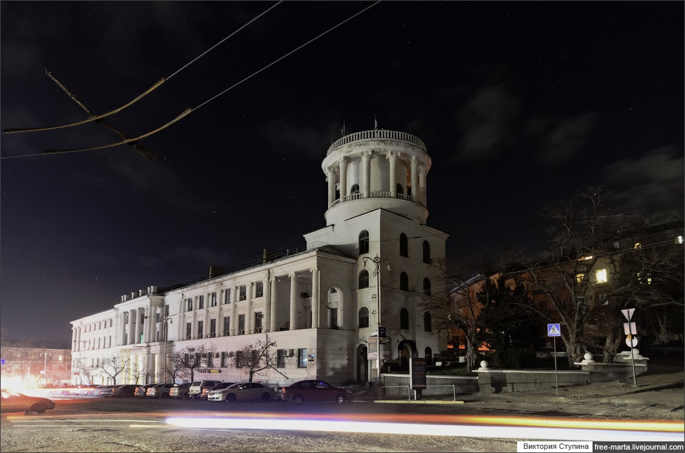 Starry sky of Sevastopol on photographs by Victoria Stupina - 4