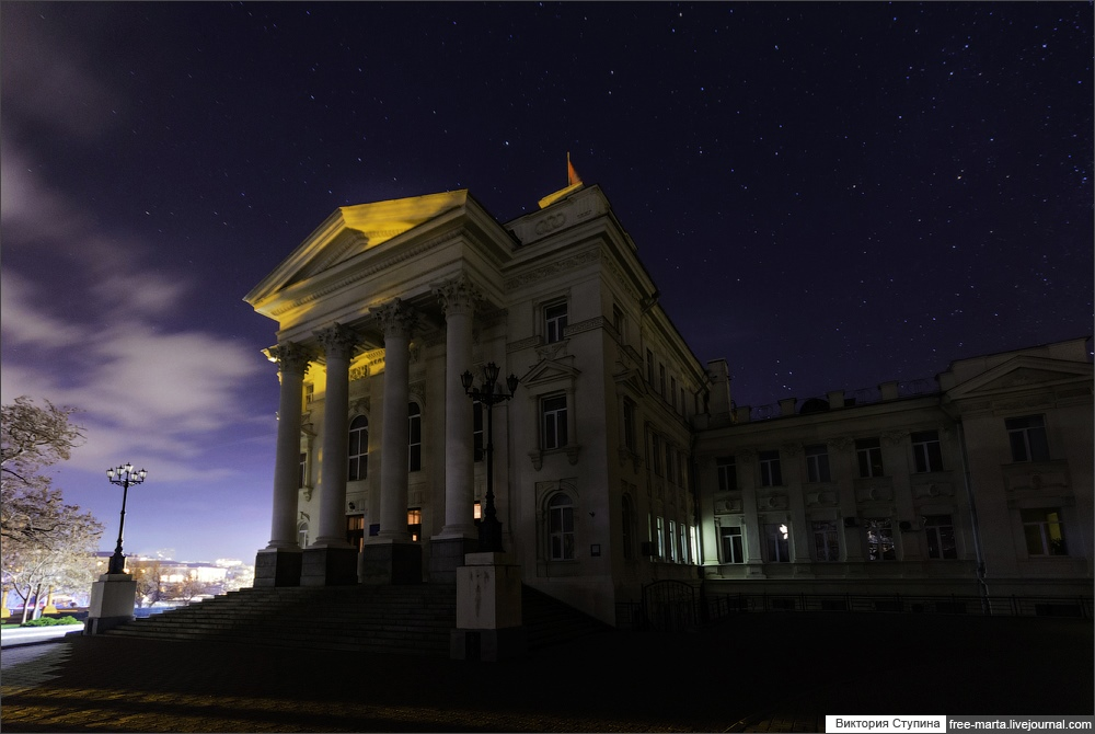 Starry sky of Sevastopol on photographs by Victoria Stupina - 6