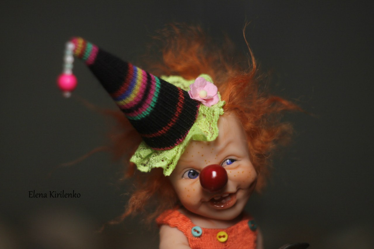 Sweet babies: Inimitable hand-made dolls by Elena Kirilenko - 17