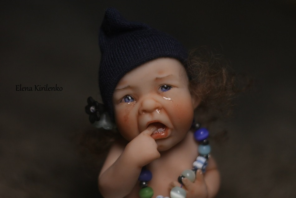 Sweet babies: Inimitable hand-made dolls by Elena Kirilenko - 18
