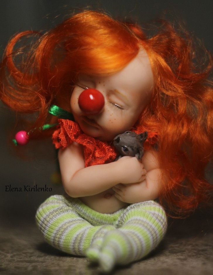 Sweet babies: Inimitable hand-made dolls by Elena Kirilenko - 19