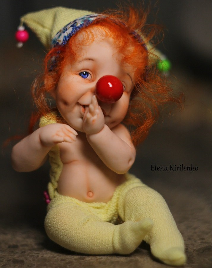 Sweet babies: Inimitable hand-made dolls by Elena Kirilenko - 22