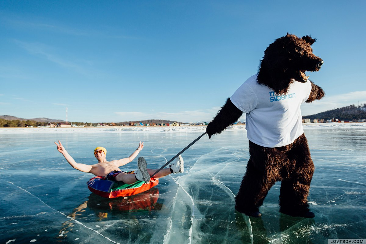 White beaches of Siberia: Frosty party on the lake Baikal - 35