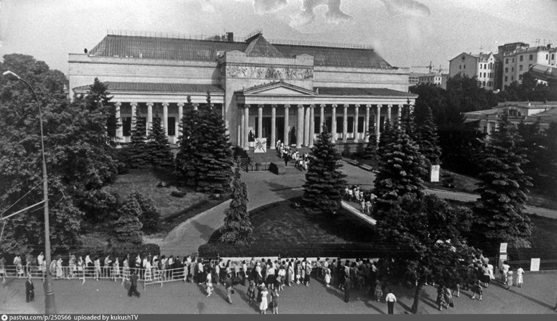 Moscow 1980s: Interesting historical photos of the Soviet capital - 9