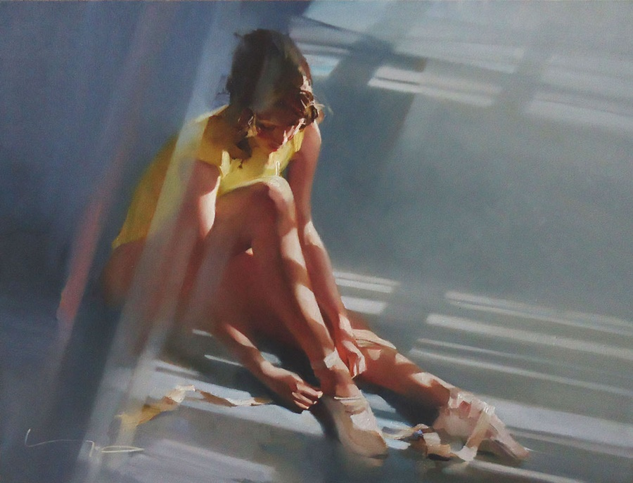 Good morning, beautiful woman: Paintings by Alexey Chernigin - 12