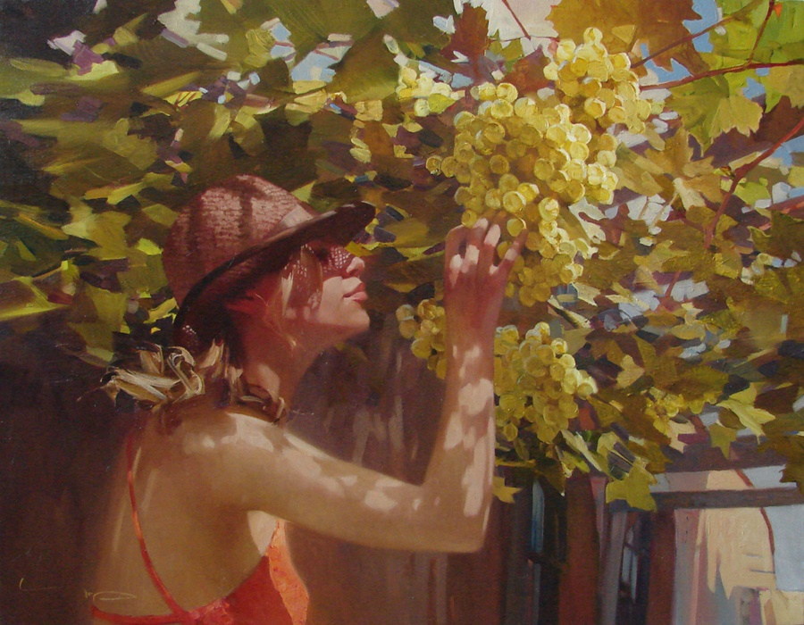 Good morning, beautiful woman: Paintings by Alexey Chernigin - 15
