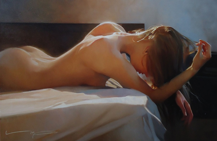 Good morning, beautiful woman: Paintings by Alexey Chernigin - 21