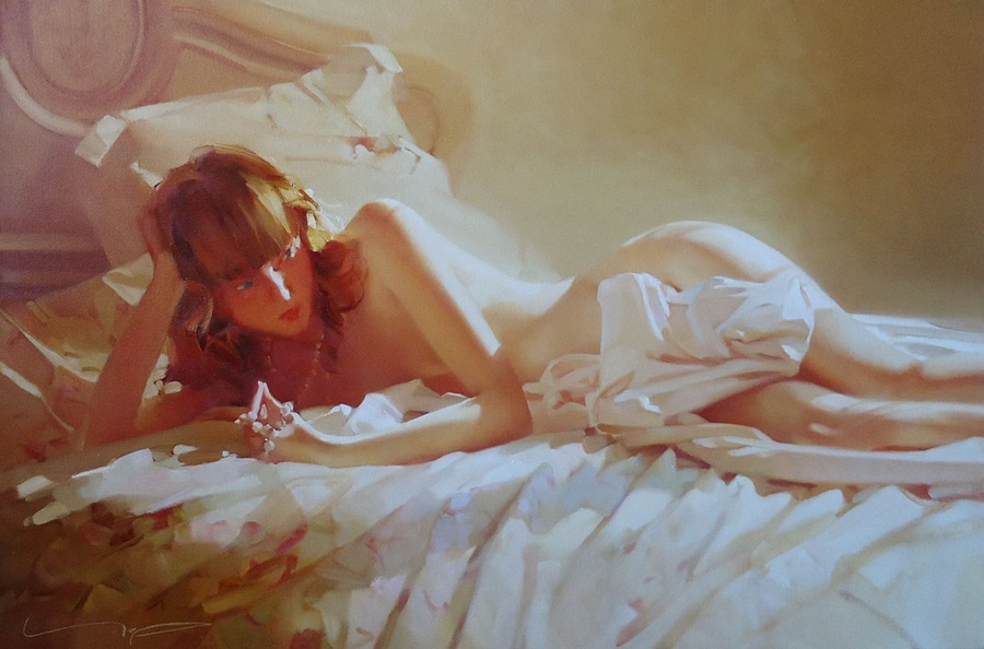 Good morning, beautiful woman: Paintings by Alexey Chernigin - 29