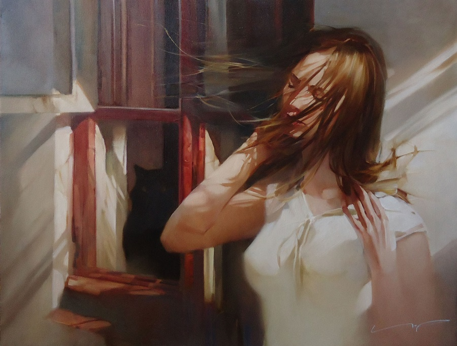 Good morning, beautiful woman: Paintings by Alexey Chernigin - 3