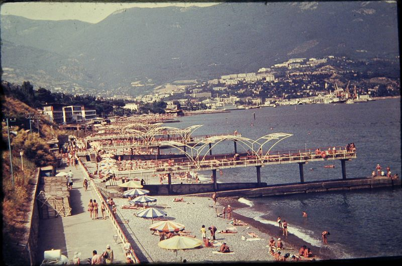 Historical photographs of Soviet Crimea's resort cities in 1970s - 14