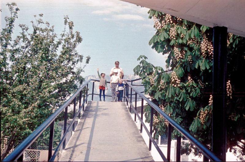 Historical photographs of Soviet Crimea's resort cities in 1970s - 15