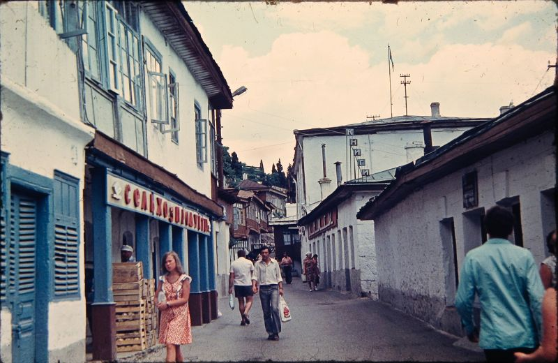 Historical photographs of Soviet Crimea's resort cities in 1970s - 2