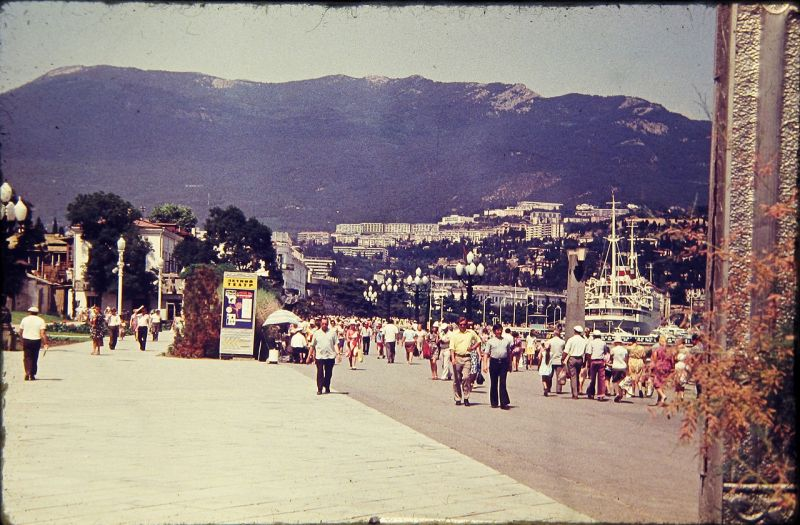Historical photographs of Soviet Crimea's resort cities in 1970s - 5