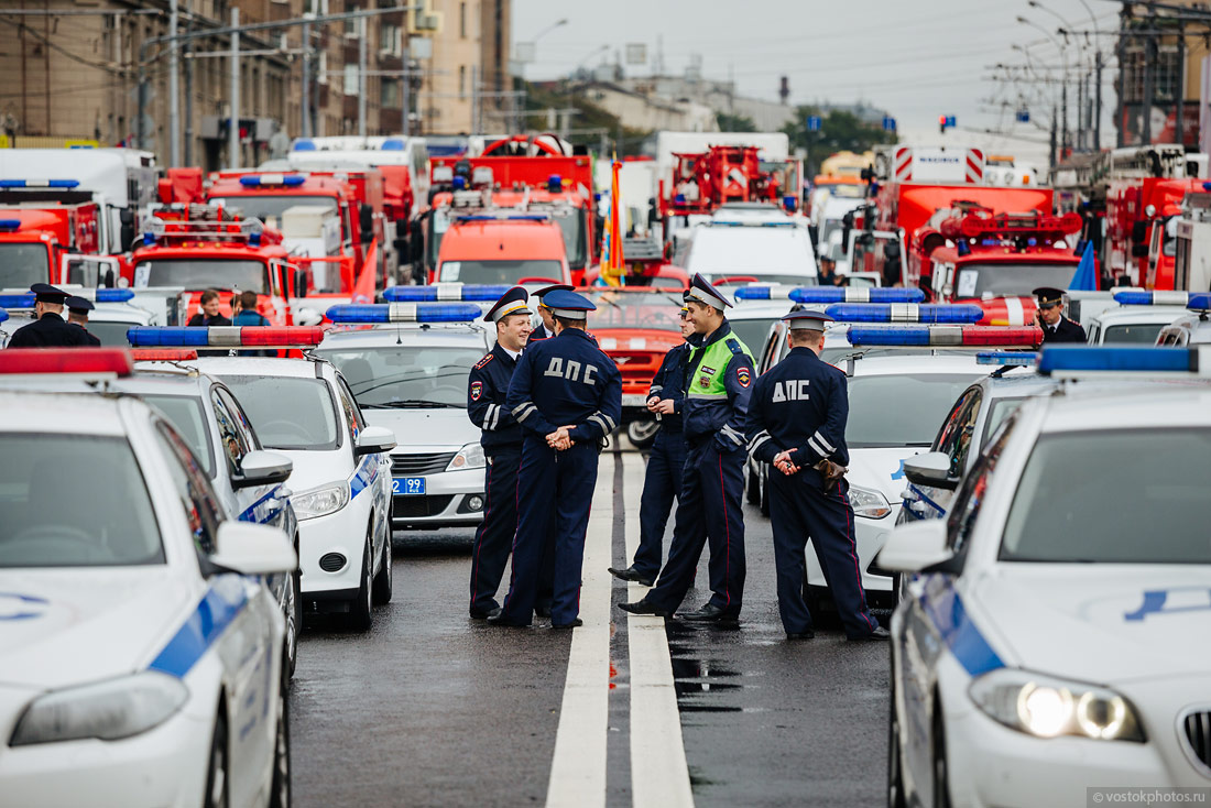 The first parade of city utility and emergency vehicles in Moscow - 5